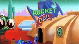 Space Quest 1 (VGA) (4/7): Skimmer & Rocket Bar