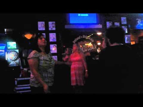 Friday, July 24, 2015 - The Karaoke Club having fun at Shamrock in Corona