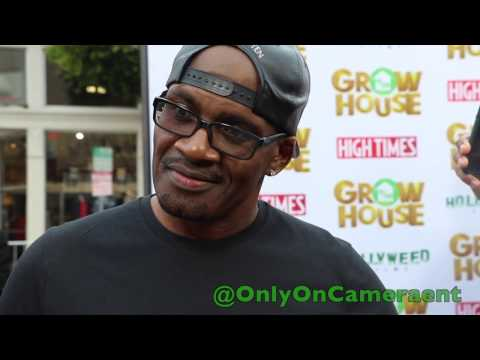 Shawn D. Fonteno at the 'Growhouse' Film Premiere.