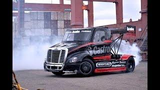 авто приколы (водители 80 уровня) дрифт на грузовиках