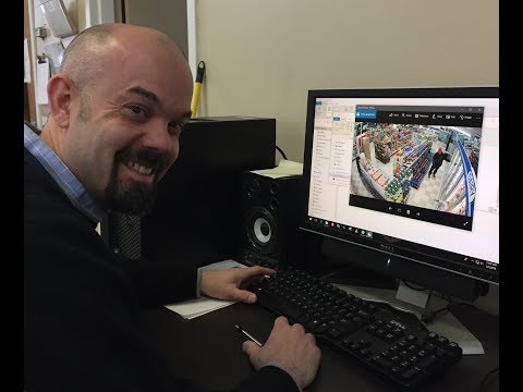 Tagging along with the Springfield Police  crime video analyst