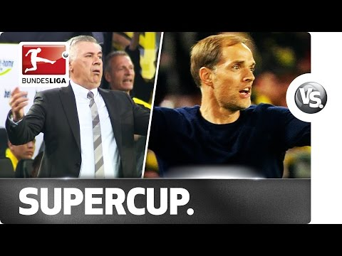 Carlo Ancelotti vs. Thomas Tuchel - Emotions on the Touchline