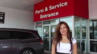 Markham Honda Service Center Introduction(Rose takes you through the amazing service center at Markham Honda. http://www.MarkhamHonda.com., 2014-08-12T19:36:28.000Z)
