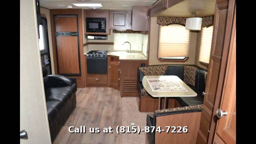2015 dutchmen denali trail edition 2461rk, travel trailer rear
