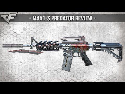 CrossFire NA 2.0 : M4A1-S PREDATOR (VIP) Review