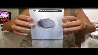Como fazer Máquina de Lavar para Barbie, Monster High e outras