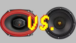 Understanding the Difference Between Coaxial and Midrange Speakers: Choose What's Right for You!