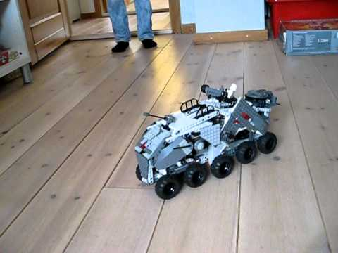 LEGO STAR WARS Clone turbo tank NXT mindstorm Mobile Remote control ...