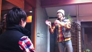 「鉄平・哲也の鉄の哲学」2010年12月7日配信分おまけ映像 今週は、出口...
