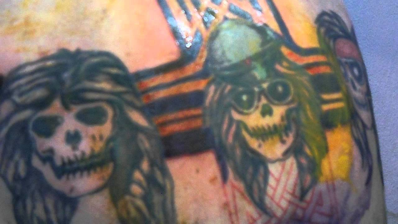Tattoo Guns N Roses Gnr Axl Rose Alexandre Guezi