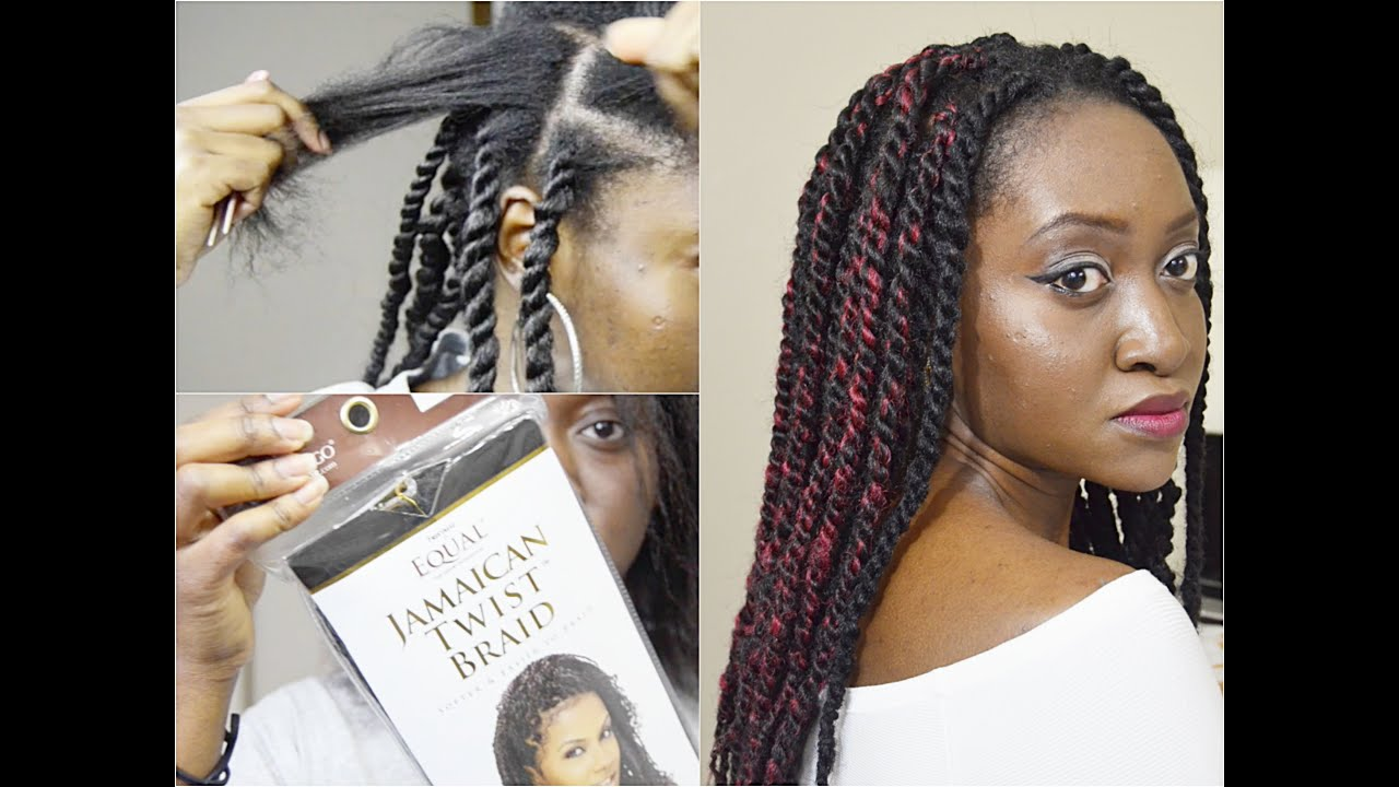 How To Marley Twists Protective Styling Youtube