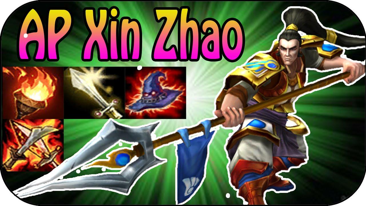 Clip Hướng dẫn chơi Xin Zhao đi rừng lên AP Full Game