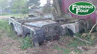 Operation to Rescue Barn Find Land Rovers