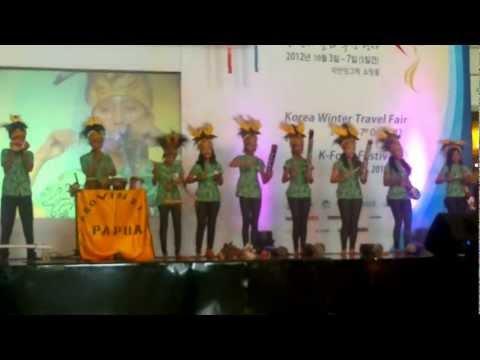 Papua Province Promotion - Korean Festival
