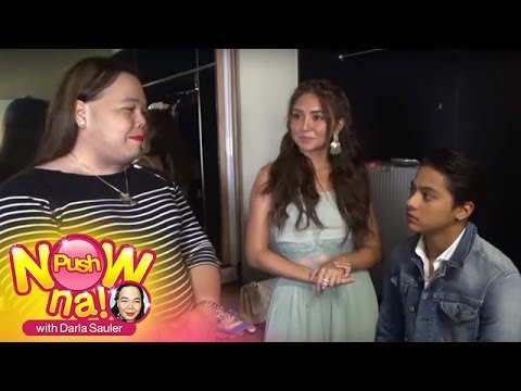 Push Now Na: Darla's Exclusive Interview wih KathNiel