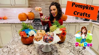 ✂️EASY crafts for kids | 🎃Pumpkin crafts.