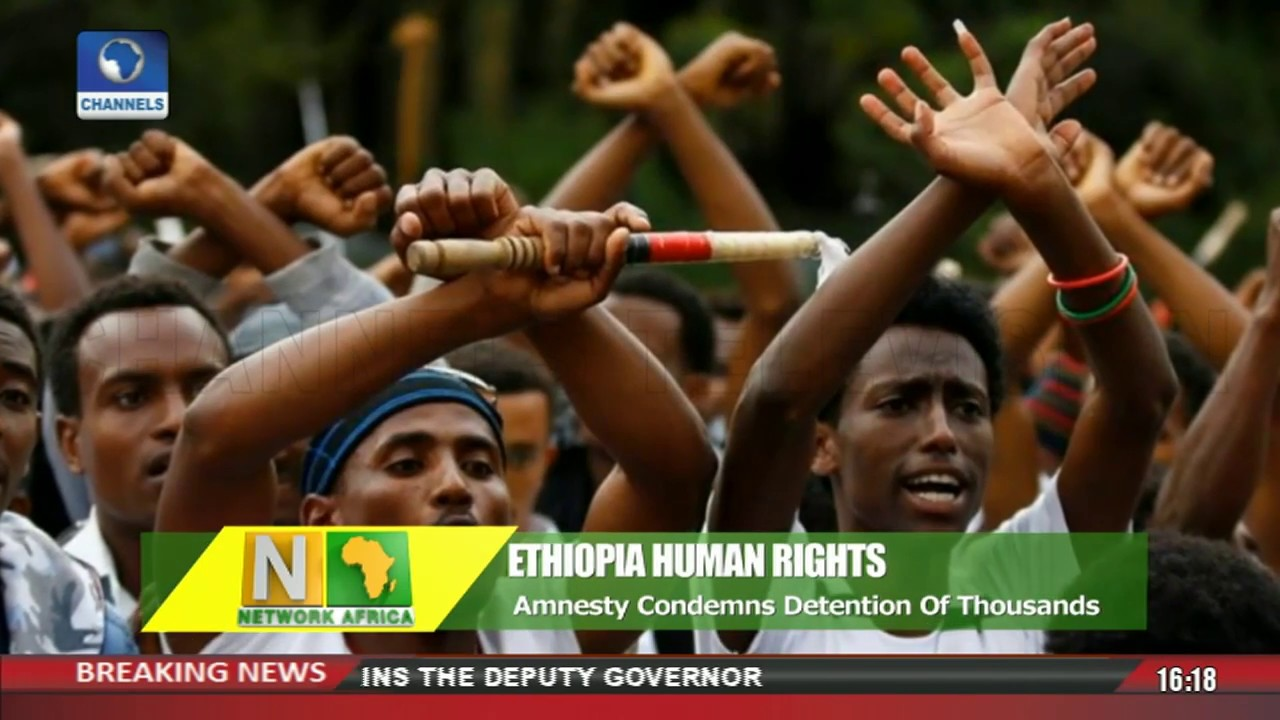 Amnesty International Condemns Crack Down By Ethiopian Govt |Network Africa|
