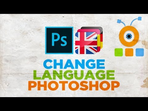 How To Change Language In Adobe Photoshop CC 2020