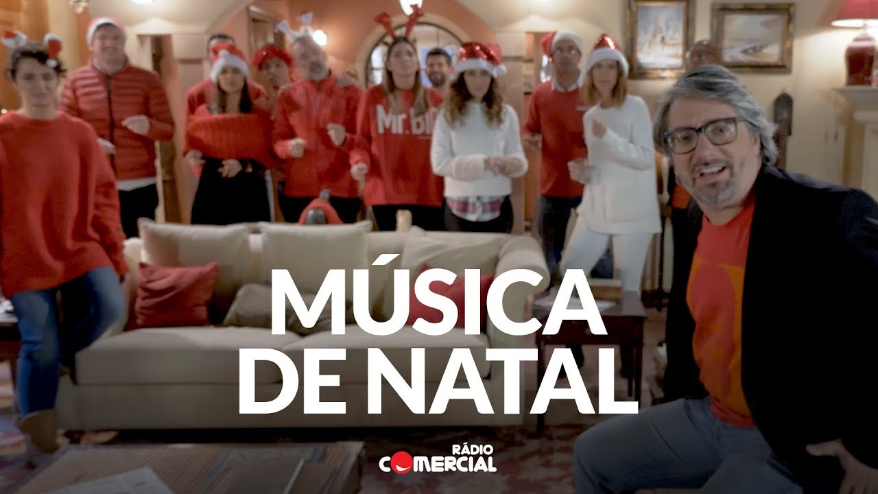 natal comercial 2018 Rádio Comercial   Música de Natal 2017   É Natal, Everybody!   YouTube natal comercial 2018