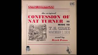 The Confession of Nat Turner | Read by Brock Peters (1968)