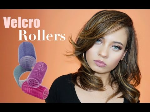 VELCRO ROLLERS STYLING TUTORIAL | 2 LOOKS! | Brittney Gray