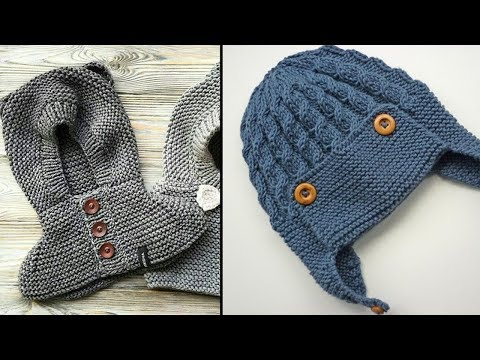ERKEK ÇOÇUKLARI İÇİN BERE MODELLERİ #02 - Bebek Erkek Şapka Modelleri