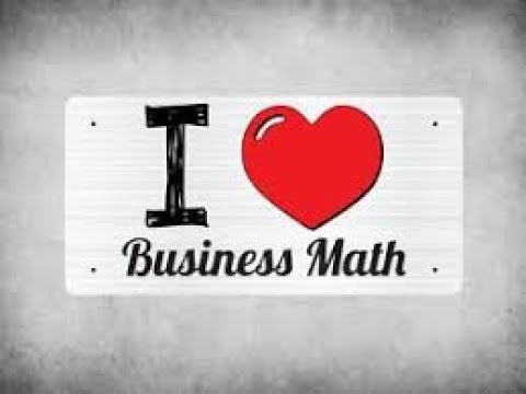 Business Math - Athabasca University - Tutorinng Session with Nicole