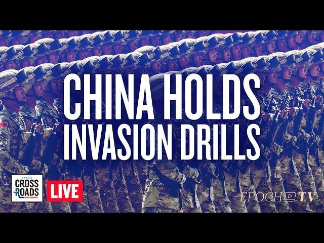 Live Q&A: China Holds Drills Simulating Beach Invasion of Taiwan; Australia Unveils Quarantine Camp