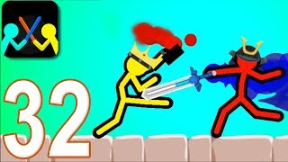 SUPREME DUELIST STICKMAN - Walkthrough Gameplay Part 32 (New Version Android Game)