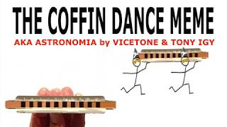 How to Play the Coffin Dance Meme on the Harmonica Without Bends
