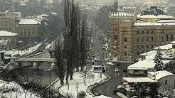 Schnee und Frost in Rumänien und Serbien - Hochwasser in Italien