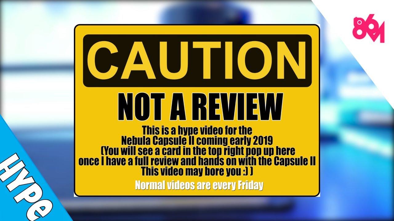 Not my normal video: Capsule II Hype Video