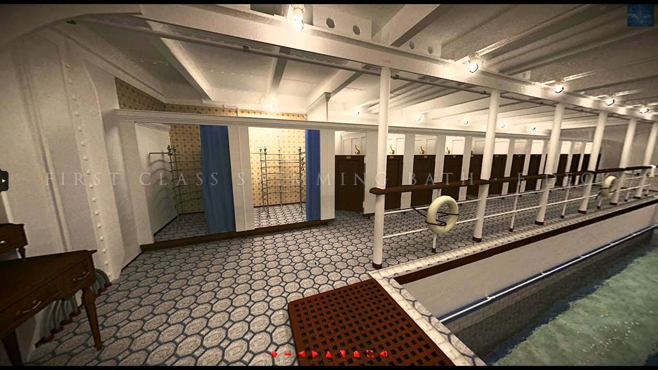 Dining Room Floor Plan Titanic 3d The Experience Youtube