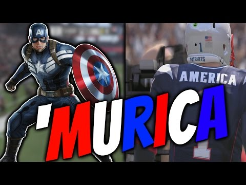 WHAT IF CAPTAIN AMERICA WERE A QB IN THE NFL? Feat. Cross-Bones and Bucky Barnes | Superhero Series