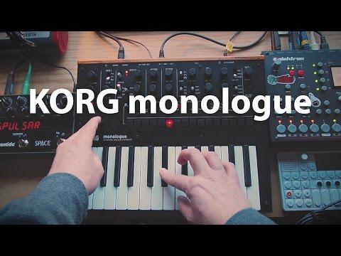 KORG Monologue Synthesizer Ambient Jam