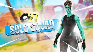 Solo vs Squad 27 Kills + Solo vs Duo Scrim Win?! | Ghost Kamo