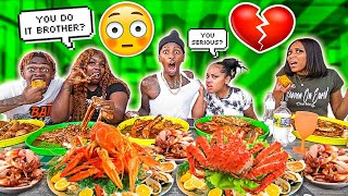 EXPOSING MY BOYFRIEND & BESTFRIEND SECRET RELATIONSHIP 💔😭 (SEAFOOD MUKBANG)