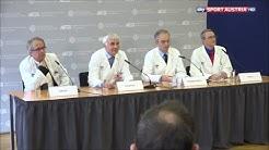 Pressekonferenz zur Entlassung von Niki Lauda aus dem AKH Wien