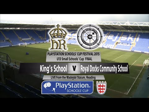 Full Match U13 Small Schools   Kings' School v  Royal Docks