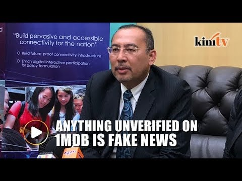 Unverified information on 1MDB is fake news, says deputy minister