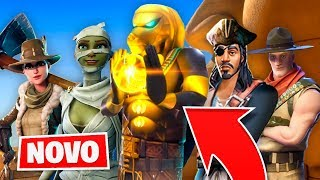 * LEAKED * NEW BATTLE PASS SKINS 5!? (Fortnite: Season 5 Battle Pass)