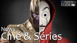 Avengers Infinity War, La Casa de Papel, Stranger Things, Spielberg... L'actu de la semaine
