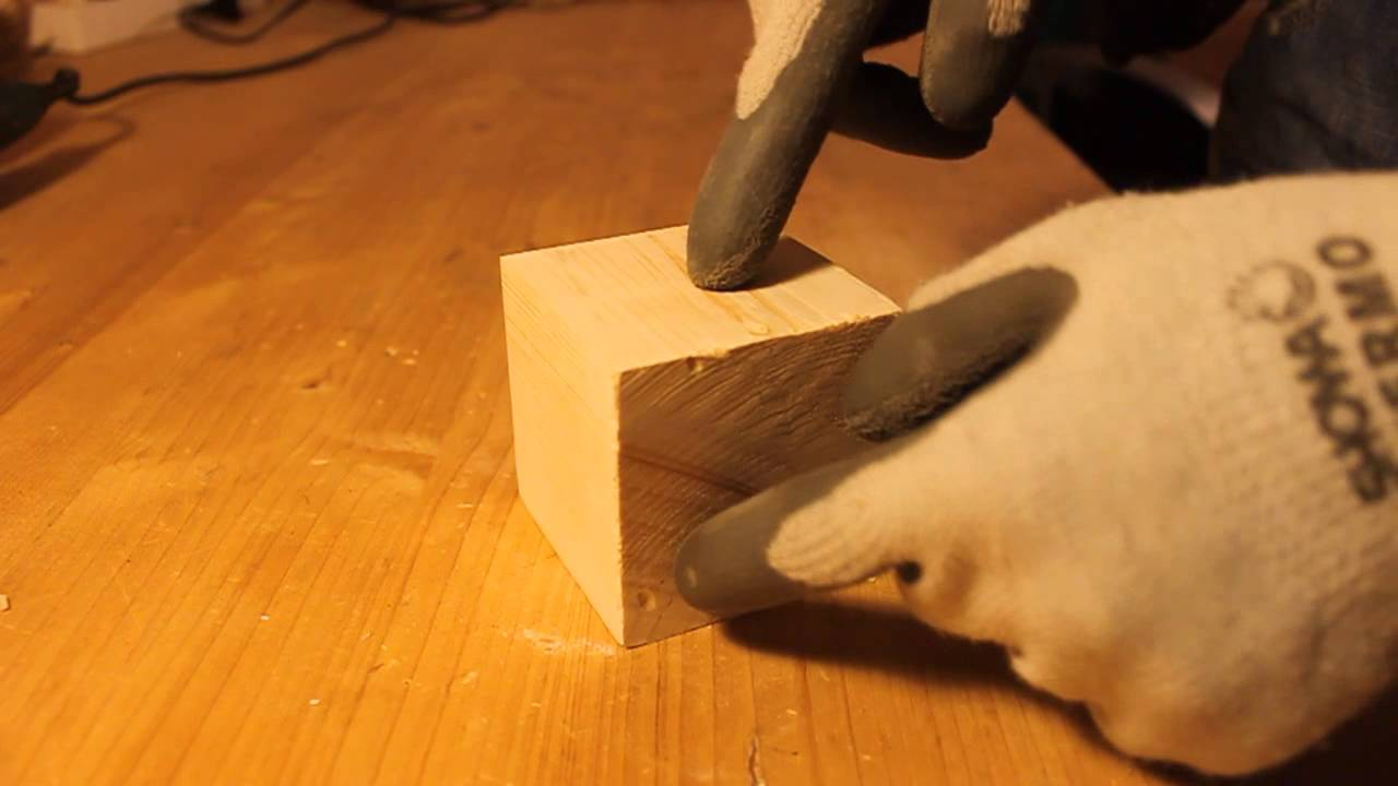 Plafoniere In Legno Fai Da Te : Cubo impossibile fai da te youtube