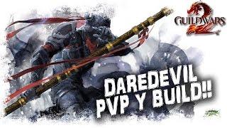 Guild Wars 2 Gameplay Español | Ladrón Báculo PVP Build y arena | MMOrpg action free
