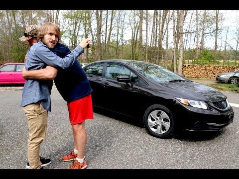 PSYCHO DAD BUYS MCJUGGERNUGGETS A NEW CAR!