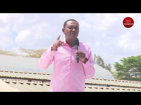 Alfred Mutua calls on politicians to show their scorecard so that they can be elected on that basis