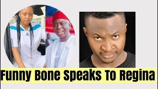 """Comedian """"Funny Bone"""" On Regina Daniels   What He Publicly Said To Her"""
