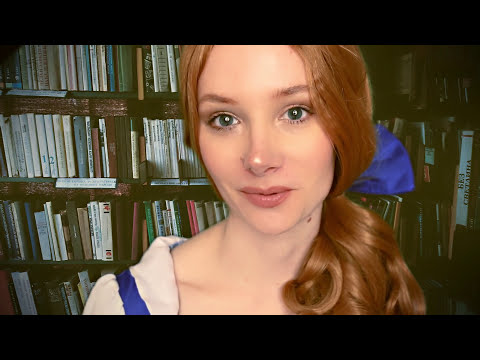 ASMR Beauty and the Beast Role Play ❤ Book sounds, Page flip