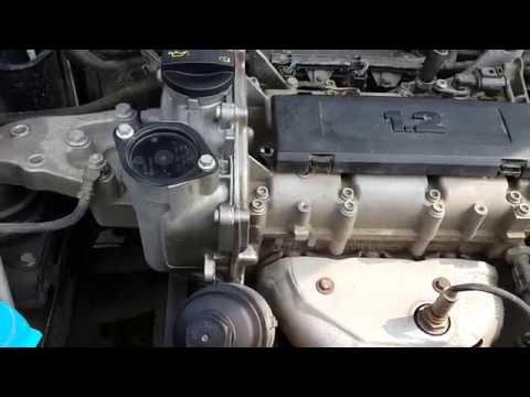 звук двигателя 1.2 skoda fabia