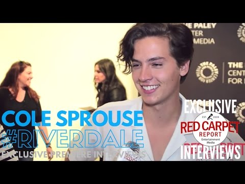 Cole Sprouse interviewed at The Paley Center's Riverdale Event #Riverdale